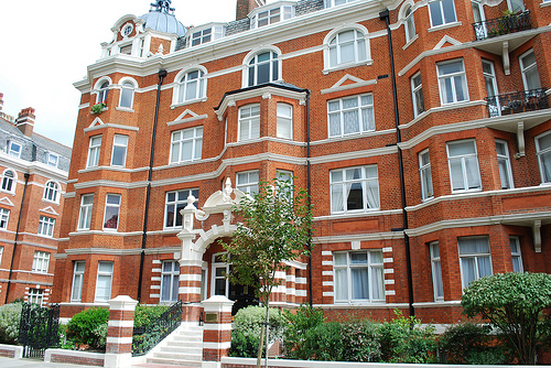 Edwardian Mansion Blocks, Maida Vale, London