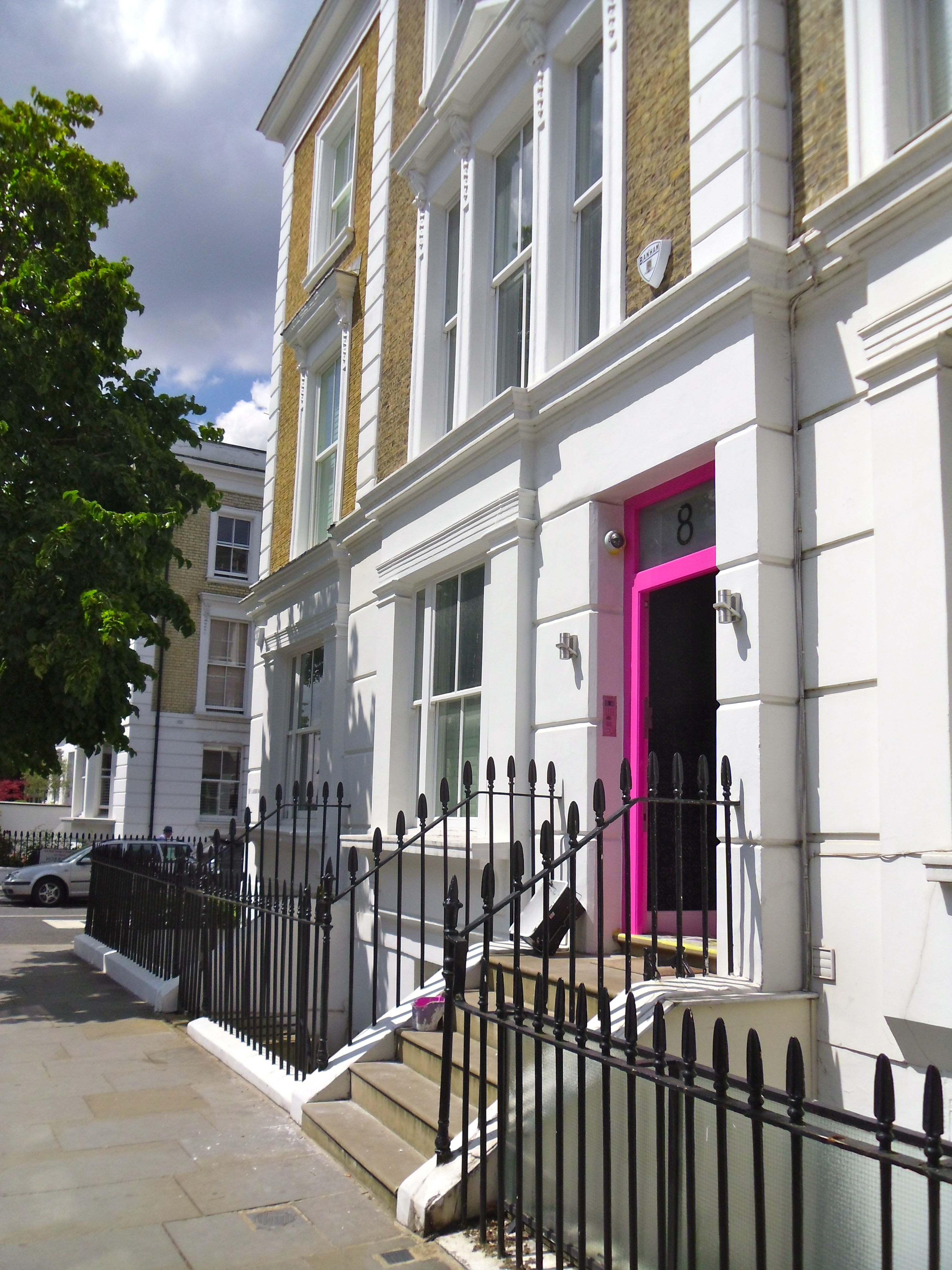 Casa georgiana Notting Hill