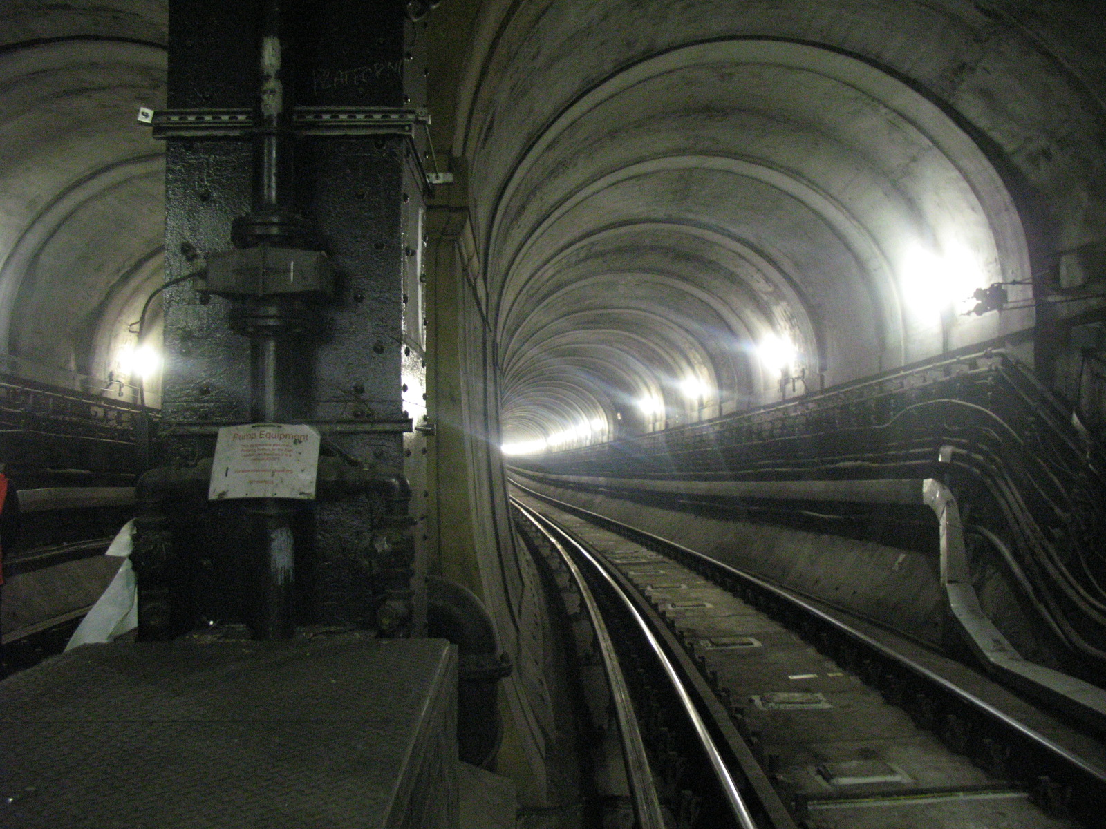 Undergroun London tunnel fantasmi a Londra