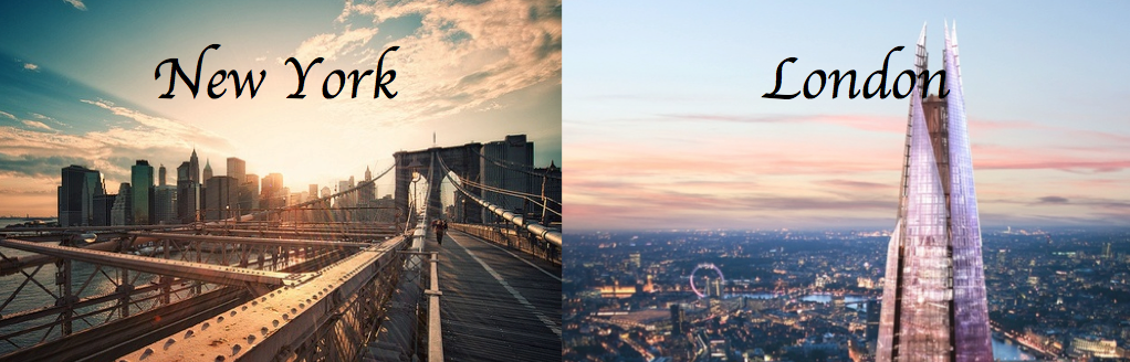new york and london